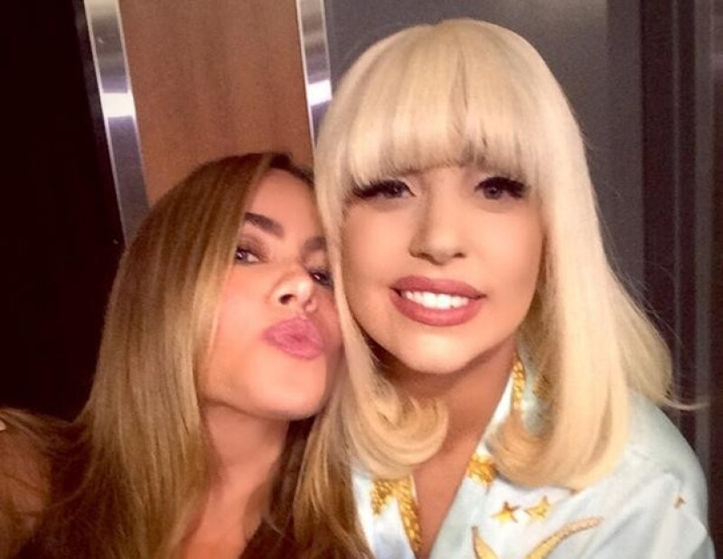 Sofia Vergara y Lady Gaga