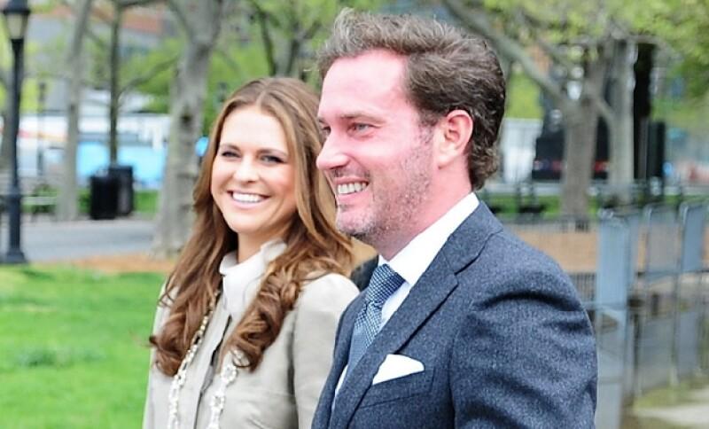 Magdalena y Chris se casaron el pasado 8 de junio.