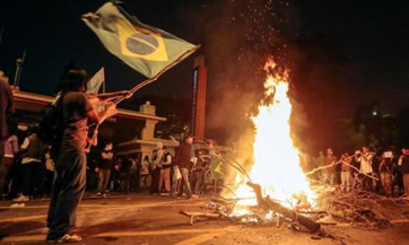 Aunque las protestas no han impactado en la economía brasileña, han puesto de manifiesto la brecha social en el país.  (Foto: Archivo)