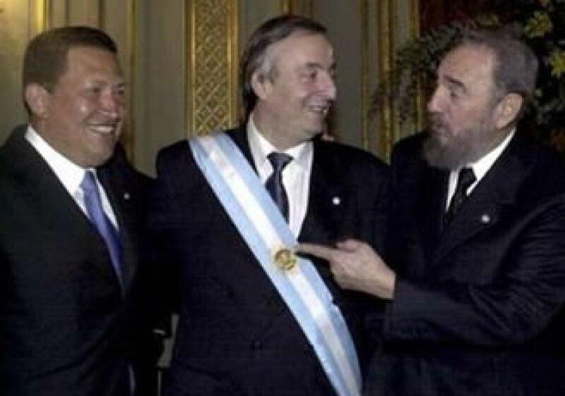 Néstor Kirchner fue presidente de Argentina entre los años 2003 y 2007 (Foto: Archivo Reuters)