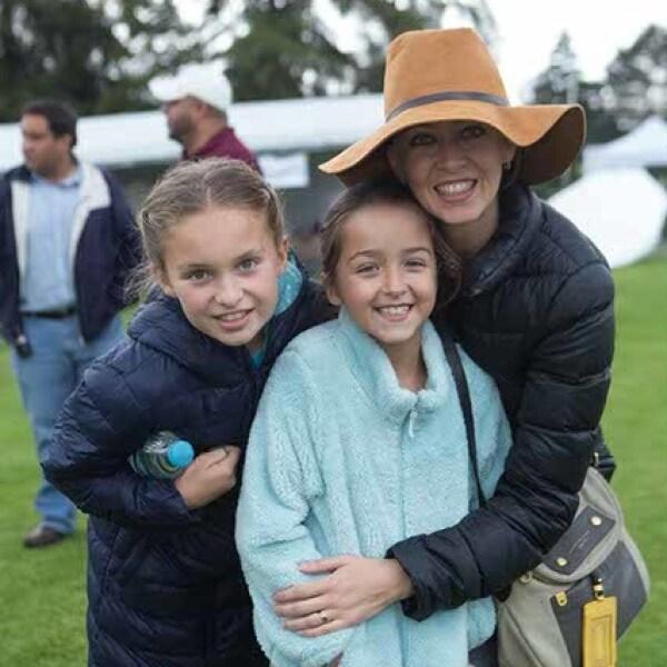 Priscila,Isabela y Claudia Witt