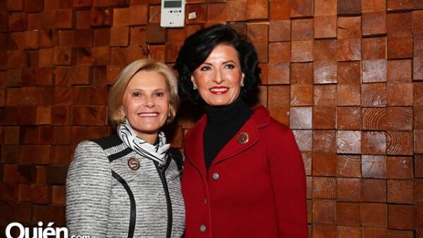 Sara Topelson y Gaby Vargas