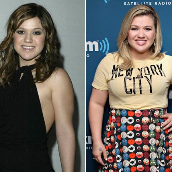 Kelly Clarkson rumbo al estrellato y ahora tras convertirse en madre.
