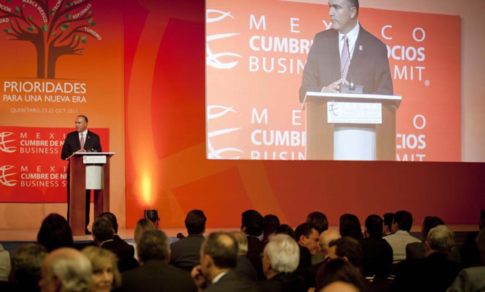 En la sesión inaugural, el gobernador de Querétaro dijo que era tiempo de ser creativos e innovadores en las propuestas de políticas públicas coherentes con el proyecto y las aspiraciones colectivas.
