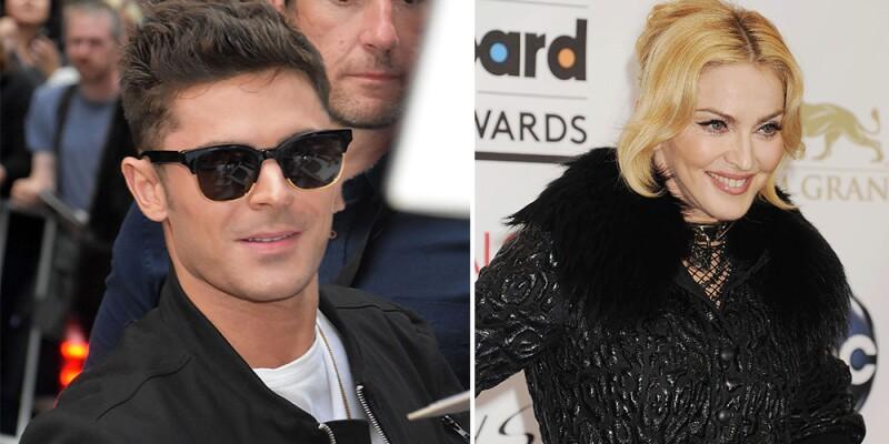Zac Efron y Madonna