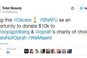 El sitio donará 10 mil dólares a la organización que Oprah y Whoopi elijan.
