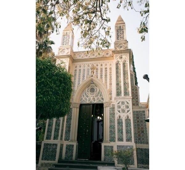 Aquí celebra misas y hace oración. Fue construida en los jardines de la residencia entre 1915 y 1922.