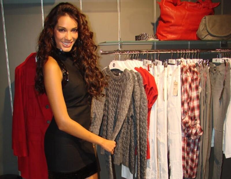 La modelo y segundo lugar de Miss Mundo 2007 descubrió en el séptimo arte su pasión; actualmente estudia un diplomado en periodismo deportivo.