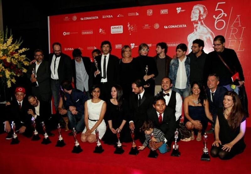 La cinta, nominada en 14 categorías, obtuvo un total de nueve preseas: Mejor Película, Actor, Ópera Prima, Sonido, Música Original, Guión Original, Fotografía, Música original y Edición.