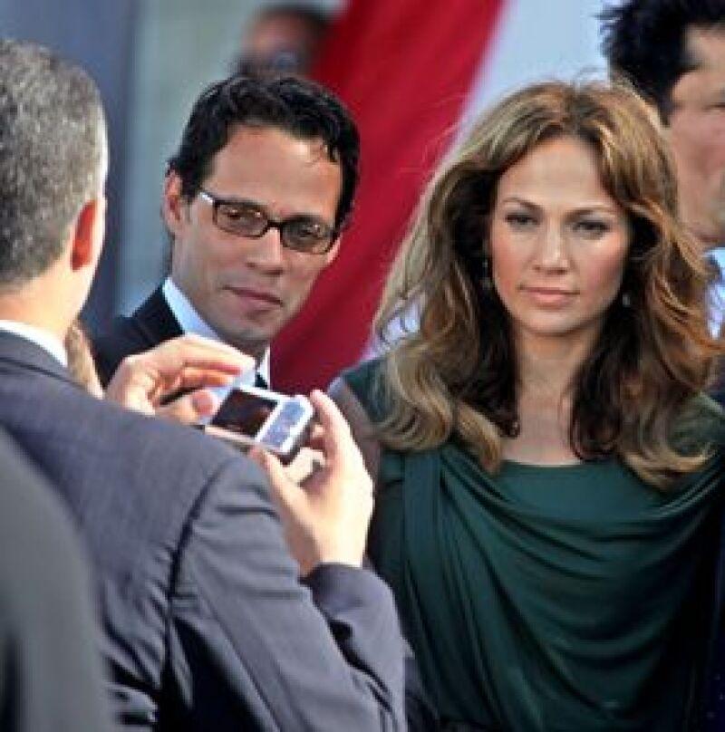 La pareja solicitó un fuerte dispositivo de seguridad para que los cuide en su visita a Colombia, donde el salsero se presentará el 10 de enero.