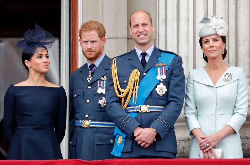 Duques de Cambridge, duques de Sussex