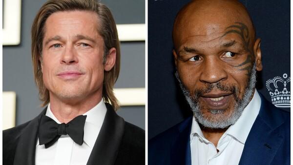 Brad Pitt y Mike Tyson