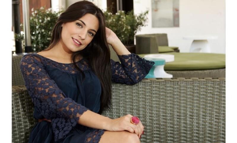 La actriz interpretó el papel de la buena en la telenovela Teresa.