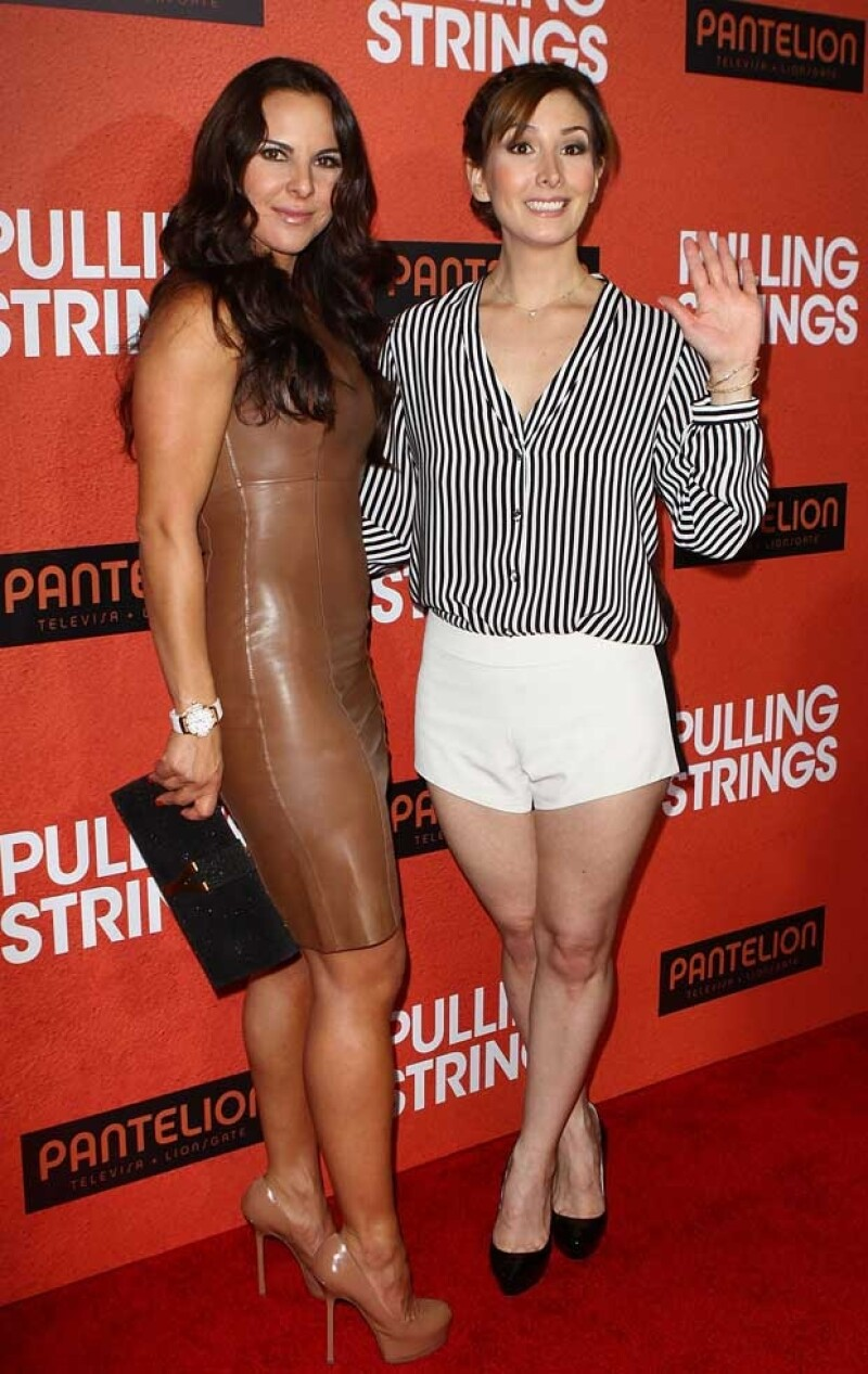 Kate acudió acompañada por Aurora Papile.