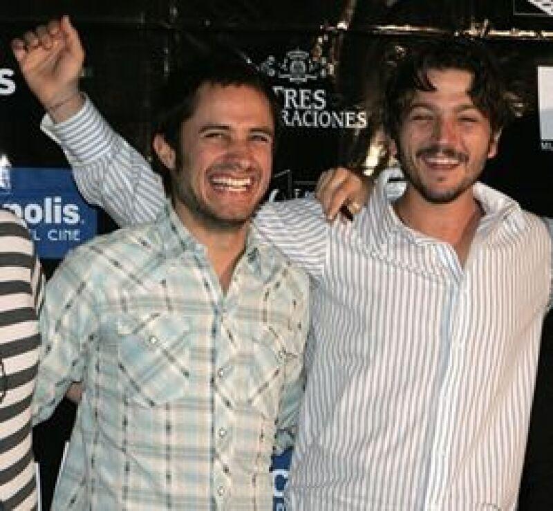 """Los charolastras se encuentran en la sexta edición del Festival Internacional de Cine para presentar la cinta """"Rudo y cursi"""" de Carlos Cuarón."""