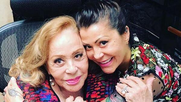 Silvia Pinal y Alejandra Guszmán