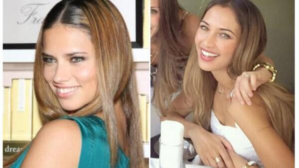 ¿Quién es quién? Andrea Castro es idéntica a Adriana Lima.