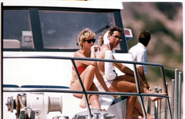 Princesa Diana y el príncipe Carlos