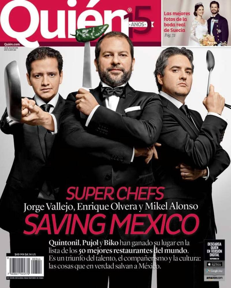 Biko, Quintonil y Pujol se han apuntado a la famosa lista `50 best´. Platicamos con los responsables de este éxito, nos revelaron más de un secreto.