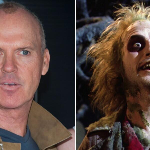 ¿Quién pensaría que el irreverente y putrefacto fantasma Beetlejuice es Michael Keaton, quien también diera vida a Batman?