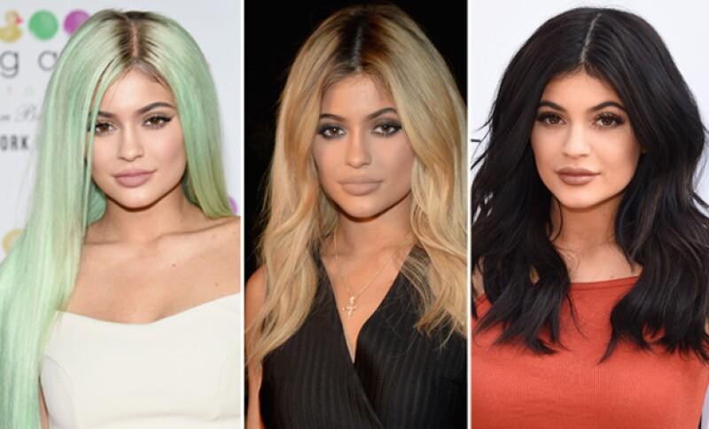 Las razones por las que Kylie se cambia constantemente su pelo finalmente han sido reveladas en su más reciente publicación en su blog.