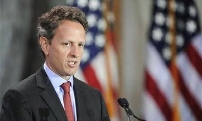 Geithner mencionó que no había tenido tiempo para pensar en su renuncia al Tesoro de EU. (Foto: Reuters)