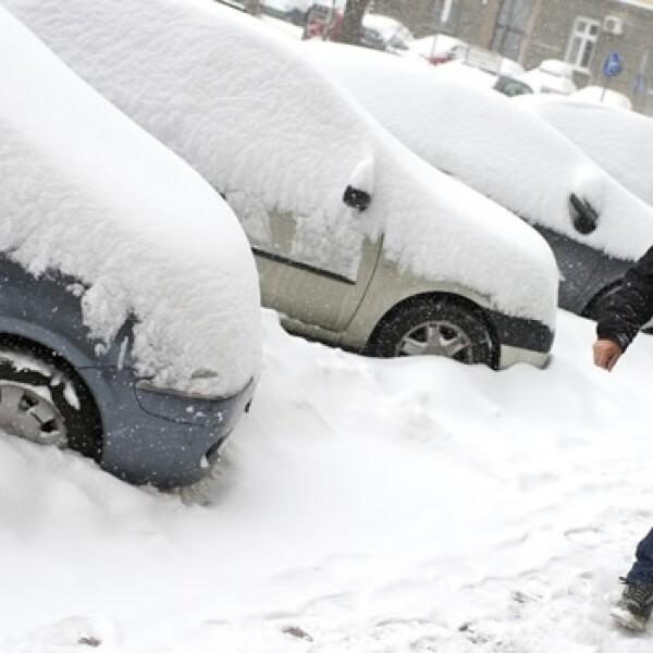 Kosovo invierno nevada