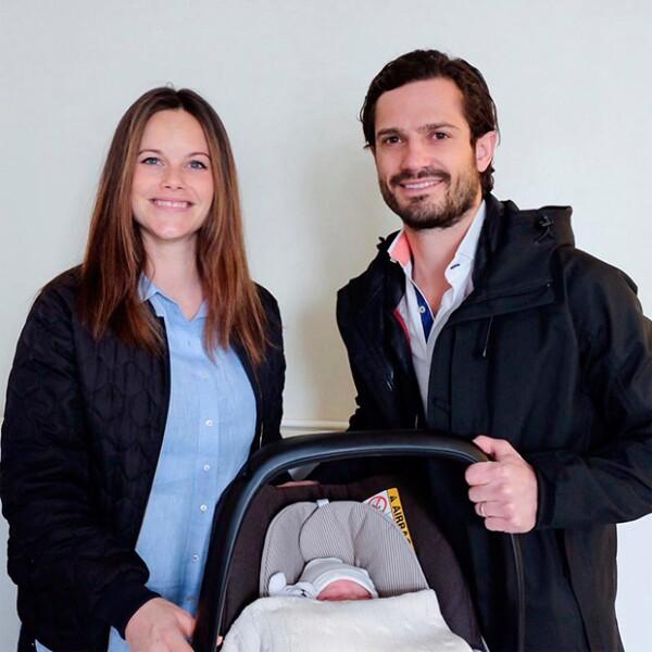 Esta es la primera foto del nuevo miembre de la Familia Real Sueca.