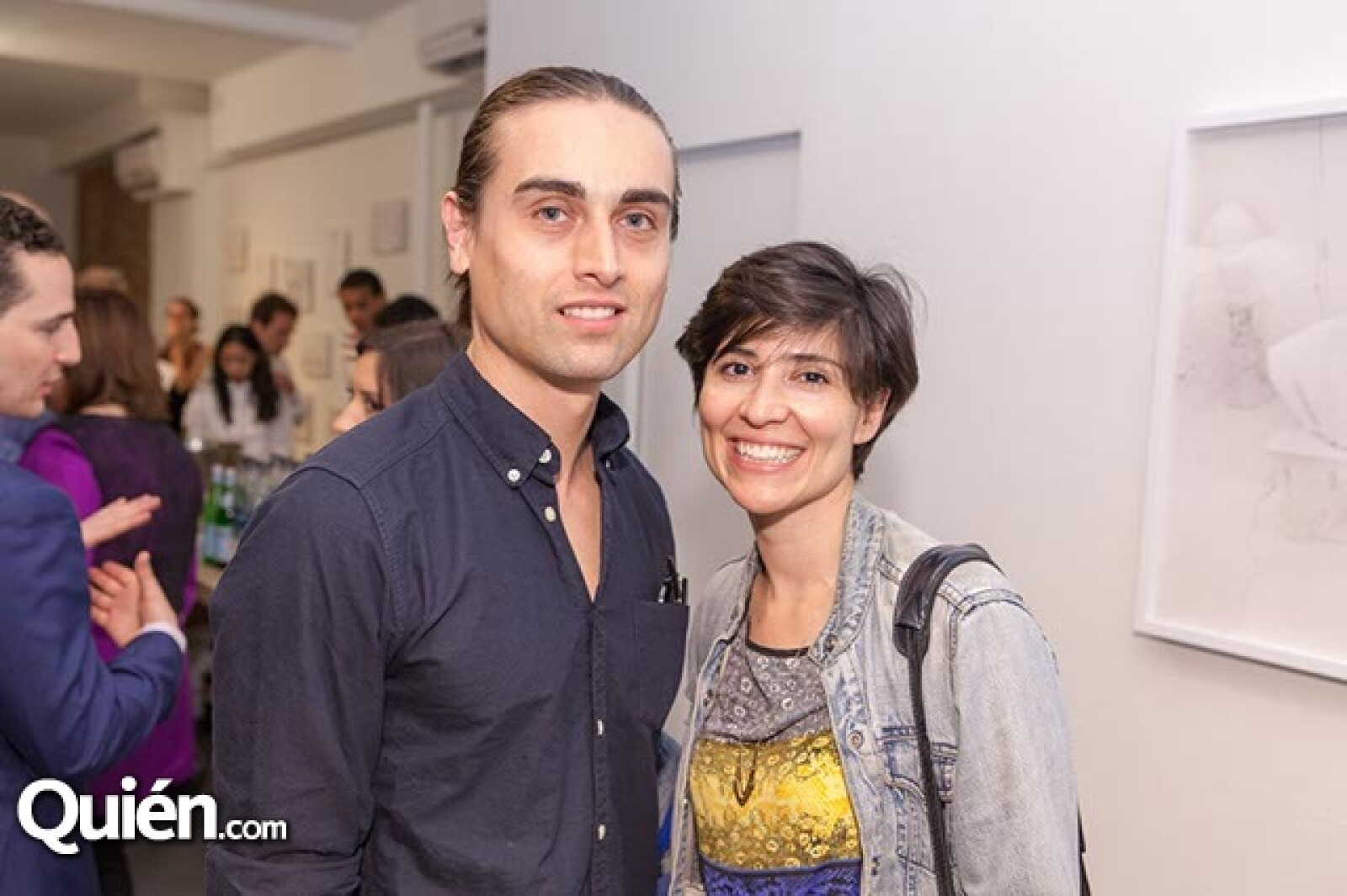 Adal Gutiérrez y Silvia Osant