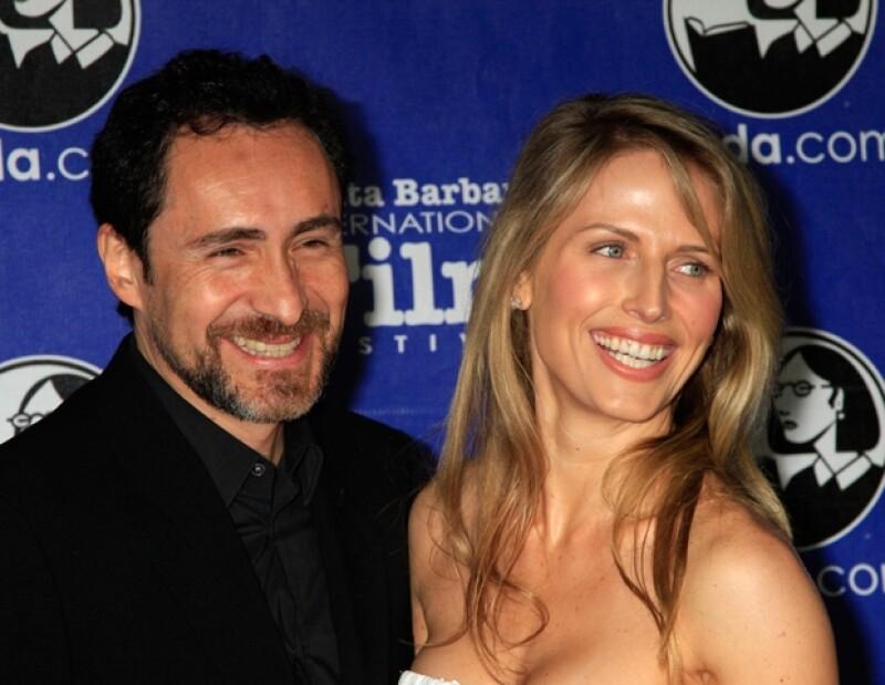 Demian mantiene desde hace nueve meses una relación amorosa con esta actriz canadiense.