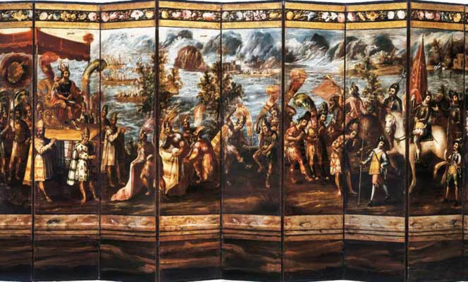 Autor: Juan Correa (ca. 1645-1717). Material: Óleo sobre tela. Tamaño: 250 x 600 cm. Origen: Col. Banco Nacional de México.