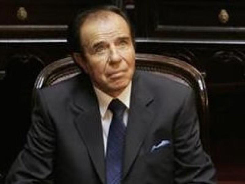 El ex presidente estuvo preso en 2001 por contrabando de armas (Foto: Reuters)