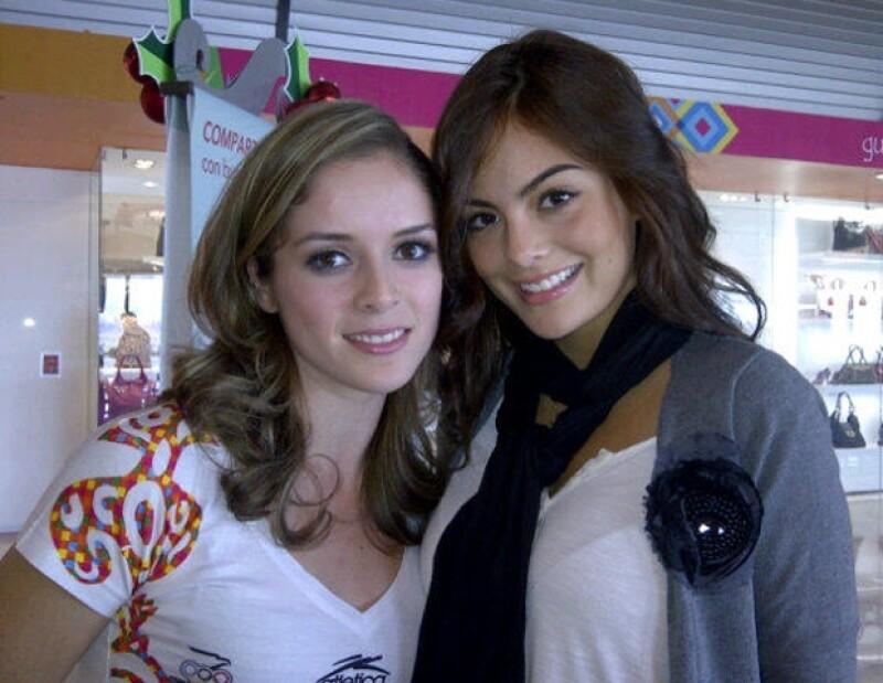 Cynthia Valdez y Ximena Navarrete.