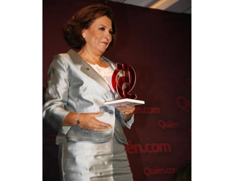 Isabel Miranda fue parte de los personajes que mueven en positivo a México.