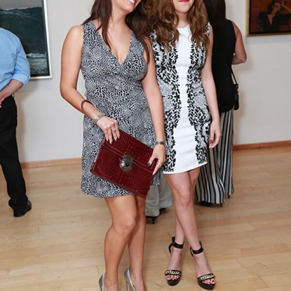 Tatiana Canales y Gabriela Garza