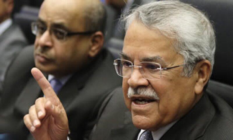 Naimi no mostró mayor preocupación ante la caída de los precios del crudo. (Foto: Reuters )