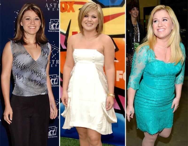 Kelly tiene 31 años y es feliz con su peso.
