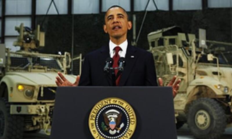 Barack Obama, presidente de Estados Unidos, dijo que la economía estadounidense enfrenta algunos vientos en contra y la crisis de la zona euro es uno de ellos. (Foto: AP)