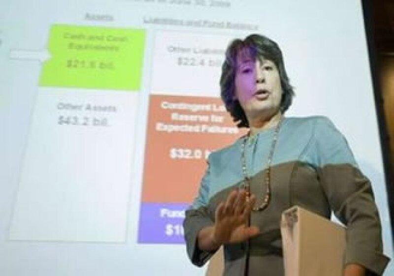 EU ha clausurado 81 bancos en 2009 en comparación con 25 en 2008, informó Sheila Bear, presidenta de la FDIC.   (Foto: Reuters)