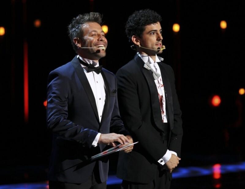 Juan Manuel Bernal y Luis Gerardo Méndez tuvieron buena química en su papel de presentadores.