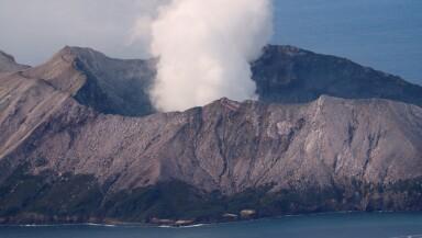 El volcán de la Isla Blanca