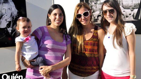 Lorena Treviño, Gaby González, Sofy Ayarzagoitia y Ana Oreza
