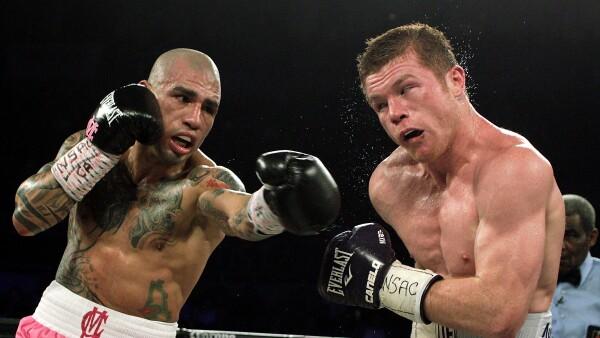 """El boxeador mexicano Saúl Álvarez fue encontrado culpable del cargo alternativo de """"enriquecimiento ilícito""""."""