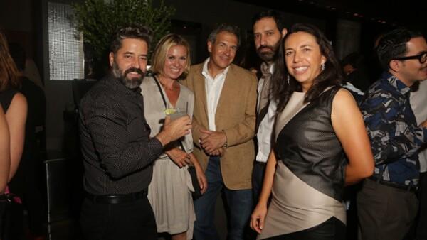 Felipe Fernández del Paso, Manon Reuter, John Reuter, Guillermo Escaip y Laura Manzo