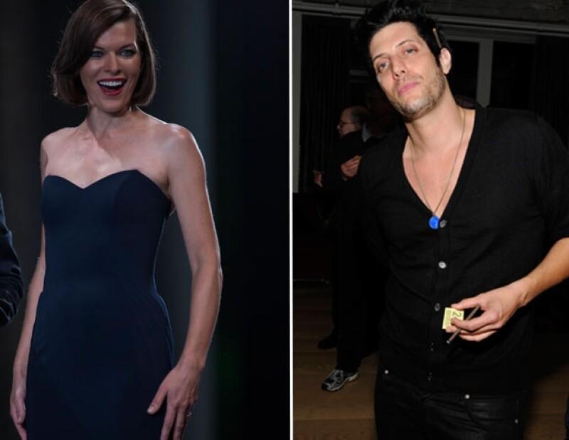 Mila Jovovich y Shawn Andrews duraron sólo dos meses casados.