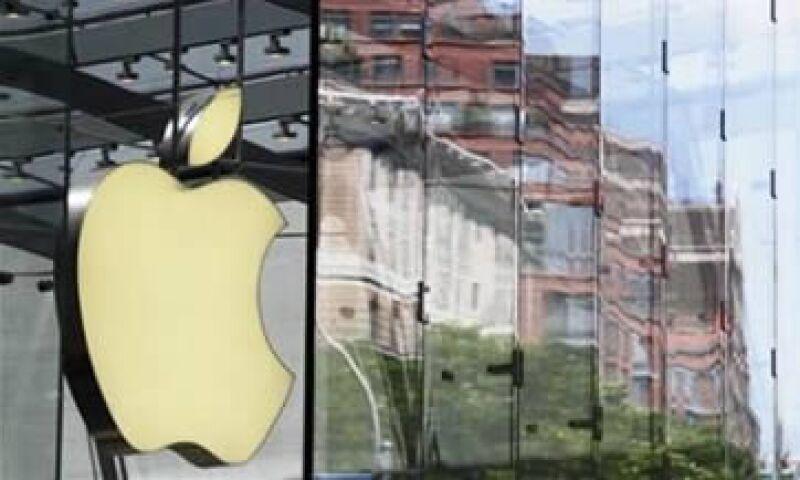 Las ventas de Apple en el tercer trimestre fiscal subieron a 28,570 millones de dólares. (Foto: Reuters)