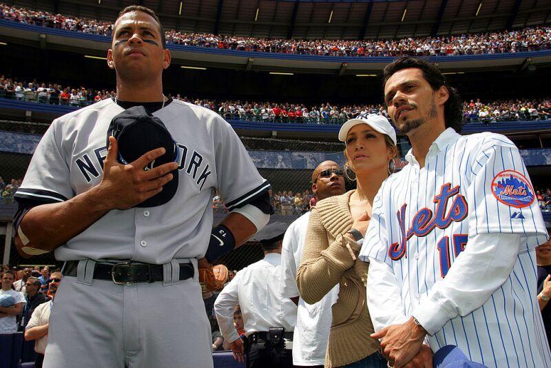 A-Rod, J.Lo y Marc Anthony