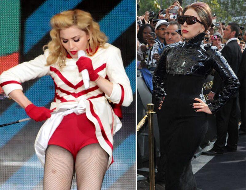 """La """"Reina del Pop"""" invitó formalmente a su compañera para que compartiera escenario con ella en alguno de sus conciertos, aunque previamente le había acusado de copiar los acordes de su canción."""