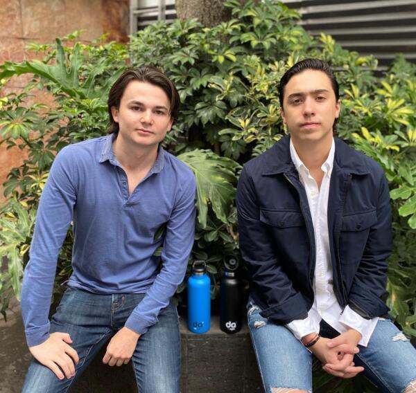 Juan Pablo Hubard y Emiliano Rangel