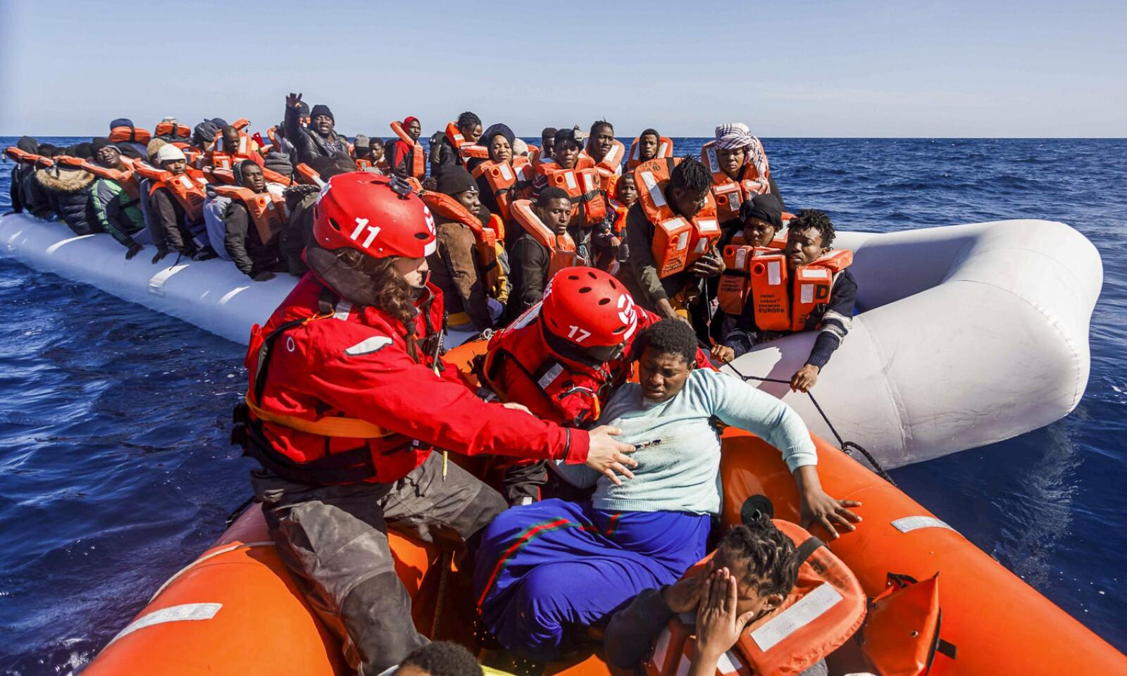 LIBYA-EU-MIGRANTS-RESCUE